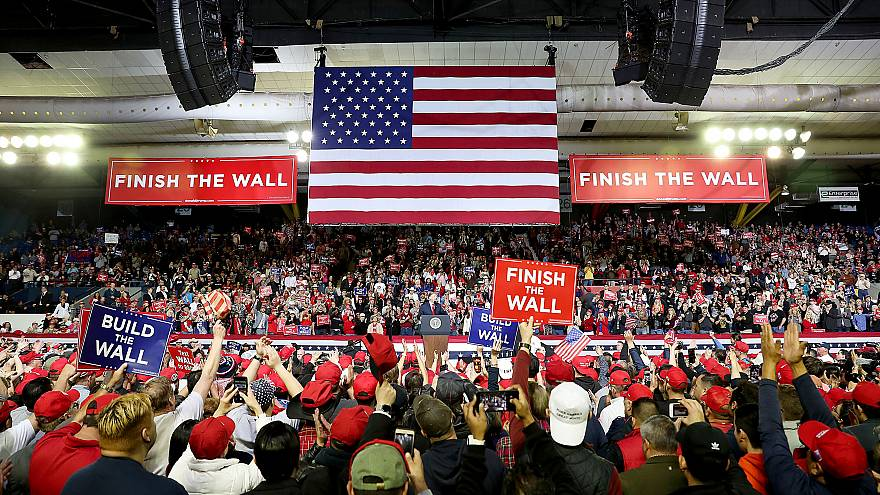 Image: President Donald Trump speaks at a rally in El Paso on Feb. 11, 2019