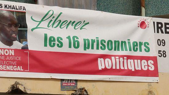 Sénégal : manifestation pour la libération du maire de Dakar [no comment]