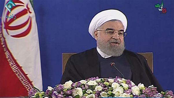 Iran : Rohani rejette les accusations de Trump
