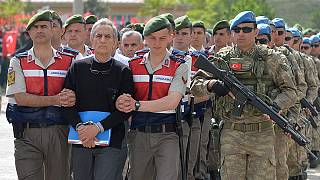 Turkey's coup suspects go on trial