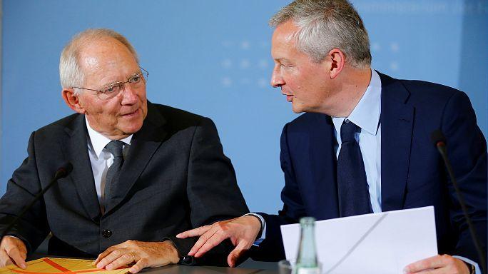 Schäuble et Le Maire pour approfondir la zone euro