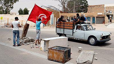 """Tunisie : un manifestant tué """"accidentellement"""" dans le Sud (officiel)"""