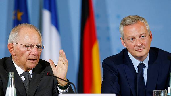 Germany and France pledge to speed up eurozone reforms