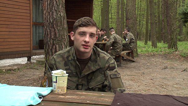 Polonya'da bölgesel milli savunma eğitimleri başladı