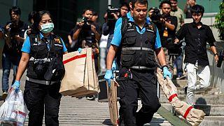 Atentado con bomba en Bangkok