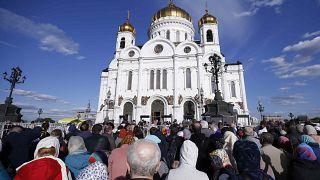 San Nicolás llega a Rusia