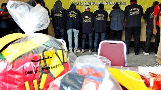 الشرطة تعتقل 141 شخصا متهمين بإقامة حفلة لمثلي الجنس
