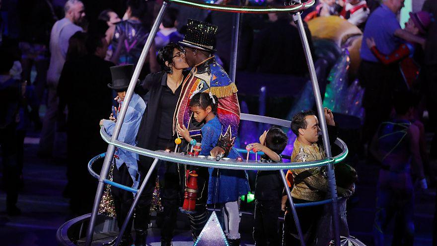 O espetáculo final do circo Ringling Brothers