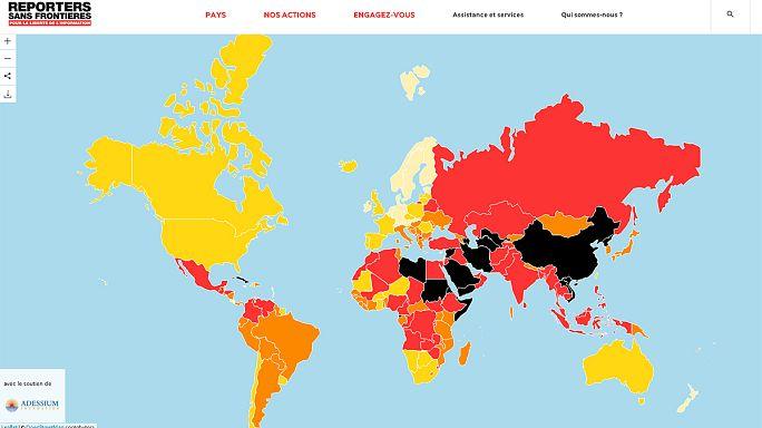 مراسلون بلا حدود تطالب المغرب باسقاط التهم عن 7 صحفيين
