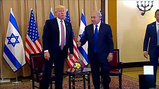 دست ندادن ترامپ با نتانیاهو خبر ساز شد