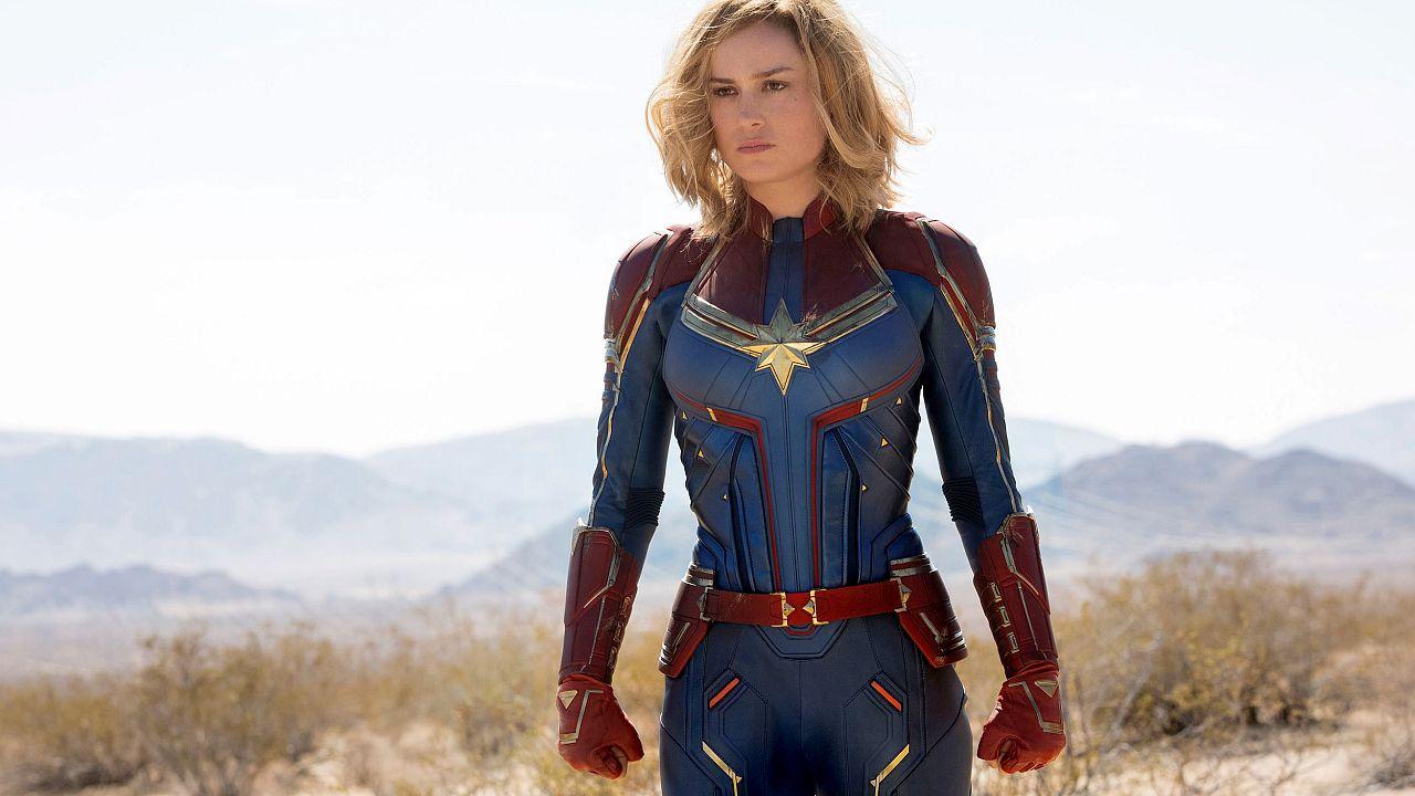 "Image: Brie Larson stars in Marvel Studios' ""Captain Marvel."""