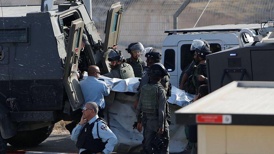 Westjordanland: dutzende Verletzte vor Trump Besuch