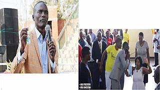 God is a phone call away in Zimbabwe, pastor 'calls' heaven in church