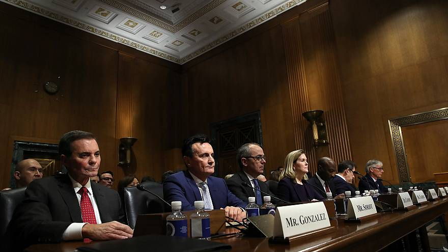 Image: Pharmaceutical Executives Testify At Senate Finance Committee Hearin