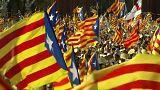 """Catalogna:""""Subito referendum sull'indipendenza. Rajoy:""""E' un ricatto""""."""