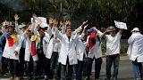 Venezuela : les personnels hospitaliers dans la rue