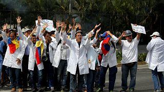 Venezuela: los doctores en la calles