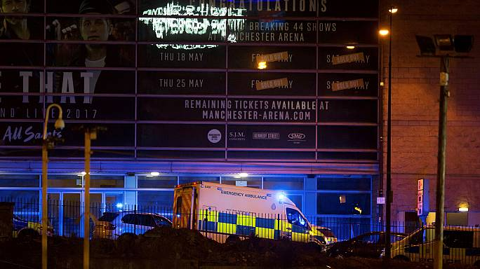 Ariana Grande concert at Manchester Arena hit by suicide bomber