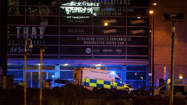19 muertos y 50 heridos en un concierto de Ariana Grande en Manchester