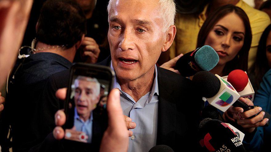 Image: Jorge Ramos anchor of Spanish-language U.S. television network Univi