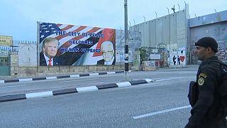 ترامب يزور عباس ضمن اجراءات امنية مشددة