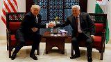 Трамп с Аббасом в Вифлееме
