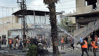 انفجار خودروی بمبگذاری شده در حمص