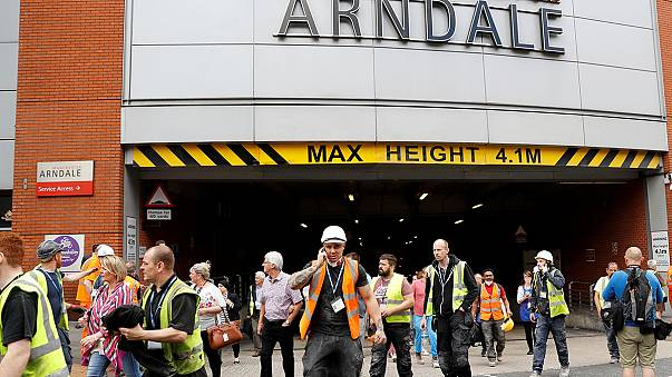Manchester shopping centre evacuation