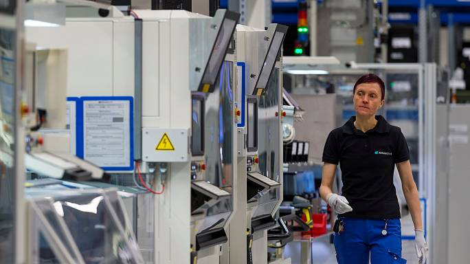 Allemagne : 0,6% de croissance au T1