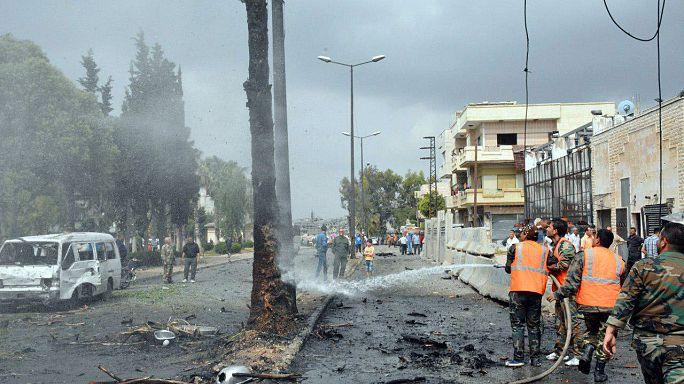 Suriye'de intihar saldırıları