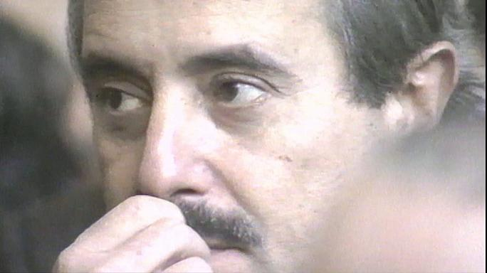 Giovanni Falcone bíró meggyilkolására emlékeztek