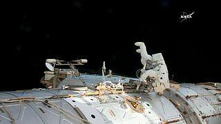 Réparations réussie dans l'ISS