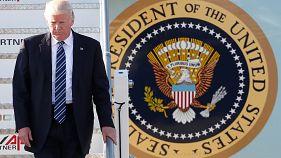 Donald Trump en visite-éclair à Rome