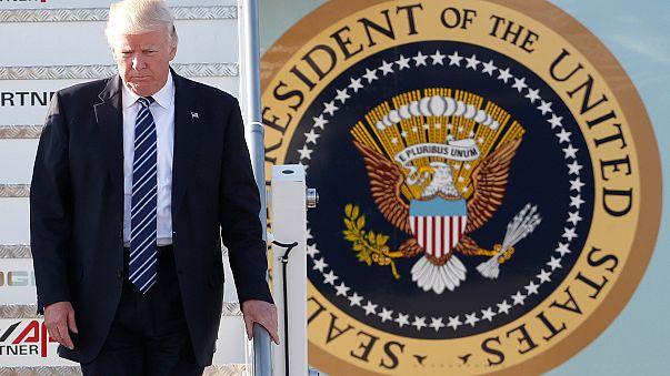 Donald Trump está em Itália