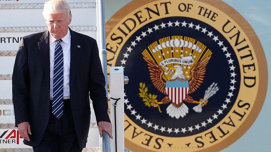 Donald Trump in Italien eingetroffen