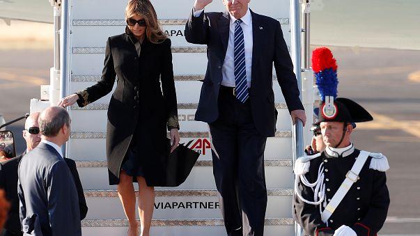 24 ore di dolce vita. Trump in visita a Roma a pochi giorni dal G7