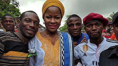 Meet Liberia's only female candidate running for president against over 20 men