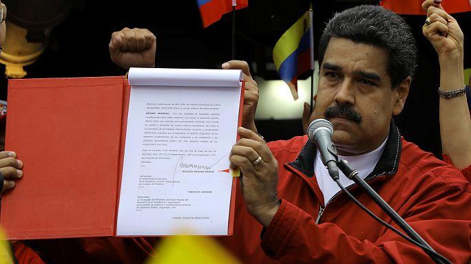 Venezuela: Nicolás Maduro assina decreto com as bases para a Assembleia Constituinte