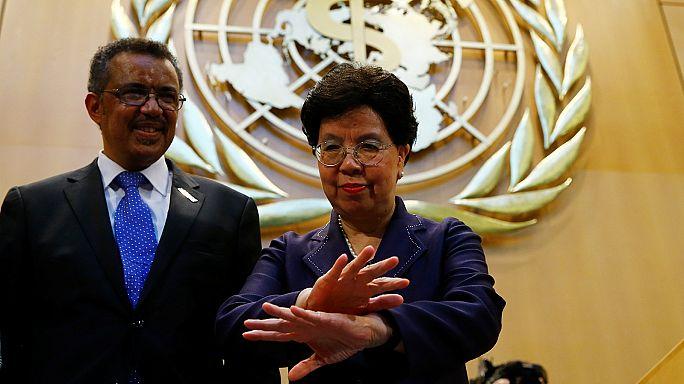 Dünya Sağlık Örgütü'ne tarihinde ilk defa Afrikalı bir lider