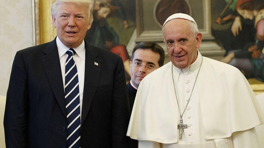Trump Suudi Arabistan ve İsrail'in ardından Vatikan'a geçti