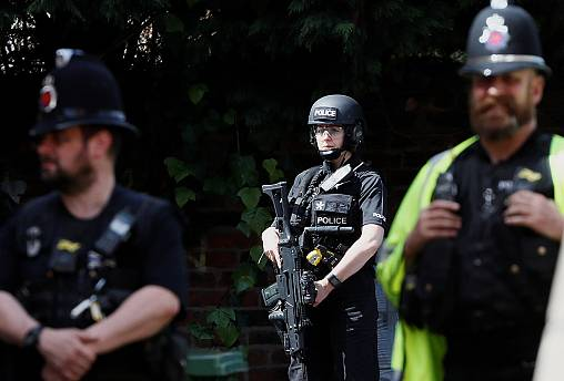 Niveau d'alerte maximal en Grande-Bretagne