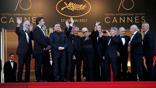 70 Jahre Cannes: Gruppenbild mit Palme