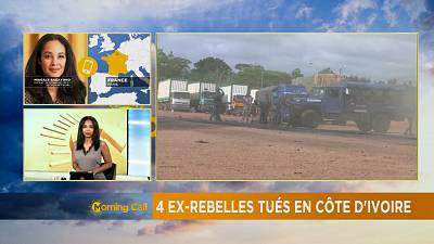 Four ex-rebels killed in clashes in Ivory Coast [The Morning Call]