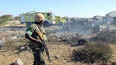 Three Kenyan police killed in landmine attack claimed by al Shabaab