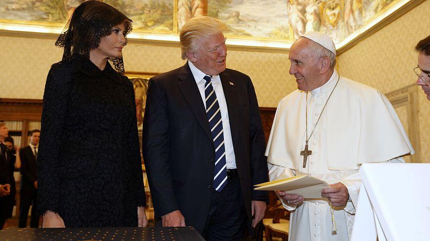 El papa y Trump hablan de sus acuerdos y desacuerdos