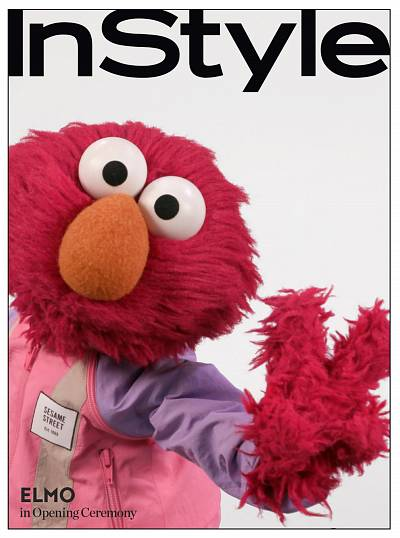 So chic, Elmo.