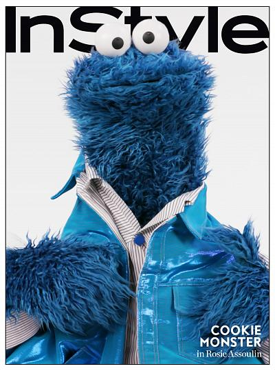Work it, Cookie Monster!