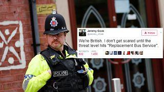 Humor británico contra la tragedia de Manchester