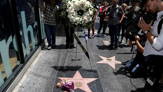 Hollywood homenageia Roger Moore