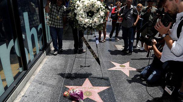 Hollywood Roger Moore'u andı
